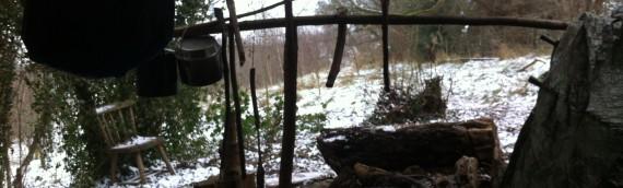 A winter woodland shelter (Part 1)