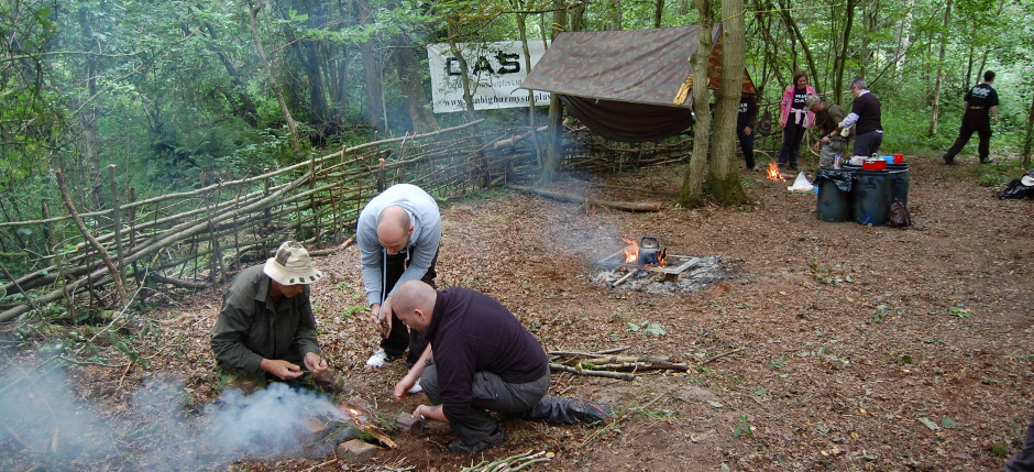 bushcraft survival courses wales