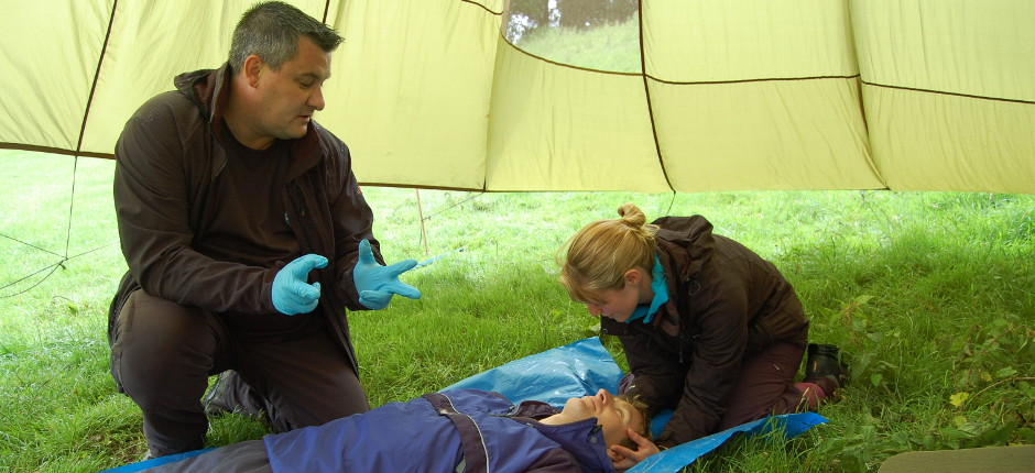 outdoor first aid wales