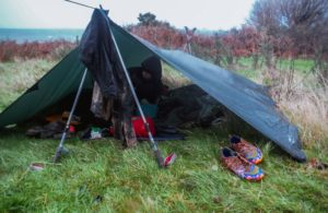 A luxurious bivvy