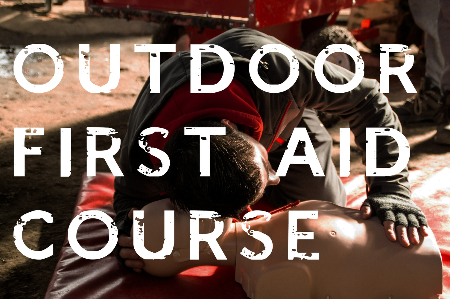 north wales outdoor first aid