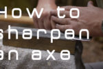 axe sharpening tutorial