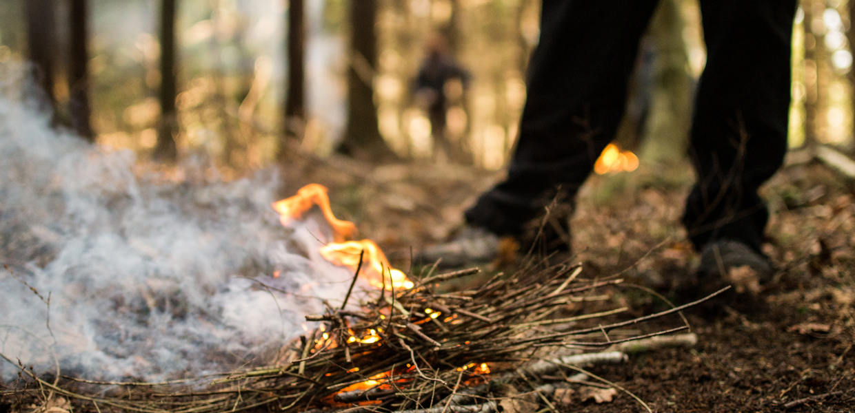 bushcraft training course uk