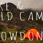 Wild Camping in Snowdonia during a storm!