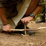 bow drill bushcraft course