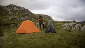 uk wild camping law