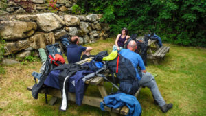 wild camping course north wales