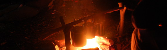 How to light a fire (Bushcraft Course)