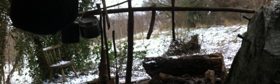 A winter woodland shelter (Part 1)