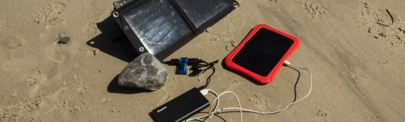 Charging Tech in the Outdoors