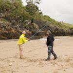beach foraging north wales