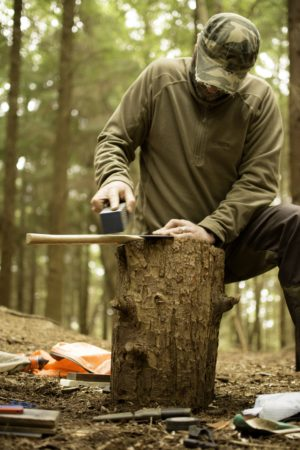 wales bushcraft course