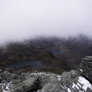 The Mysterious ice axe cwm tryfan