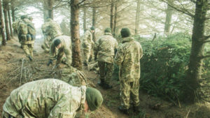 forest survival course uk
