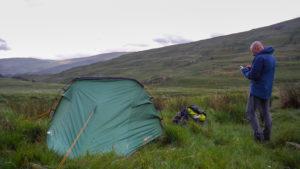 wild camping location snowdonia