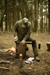 axe and knife sharpening bushcraft
