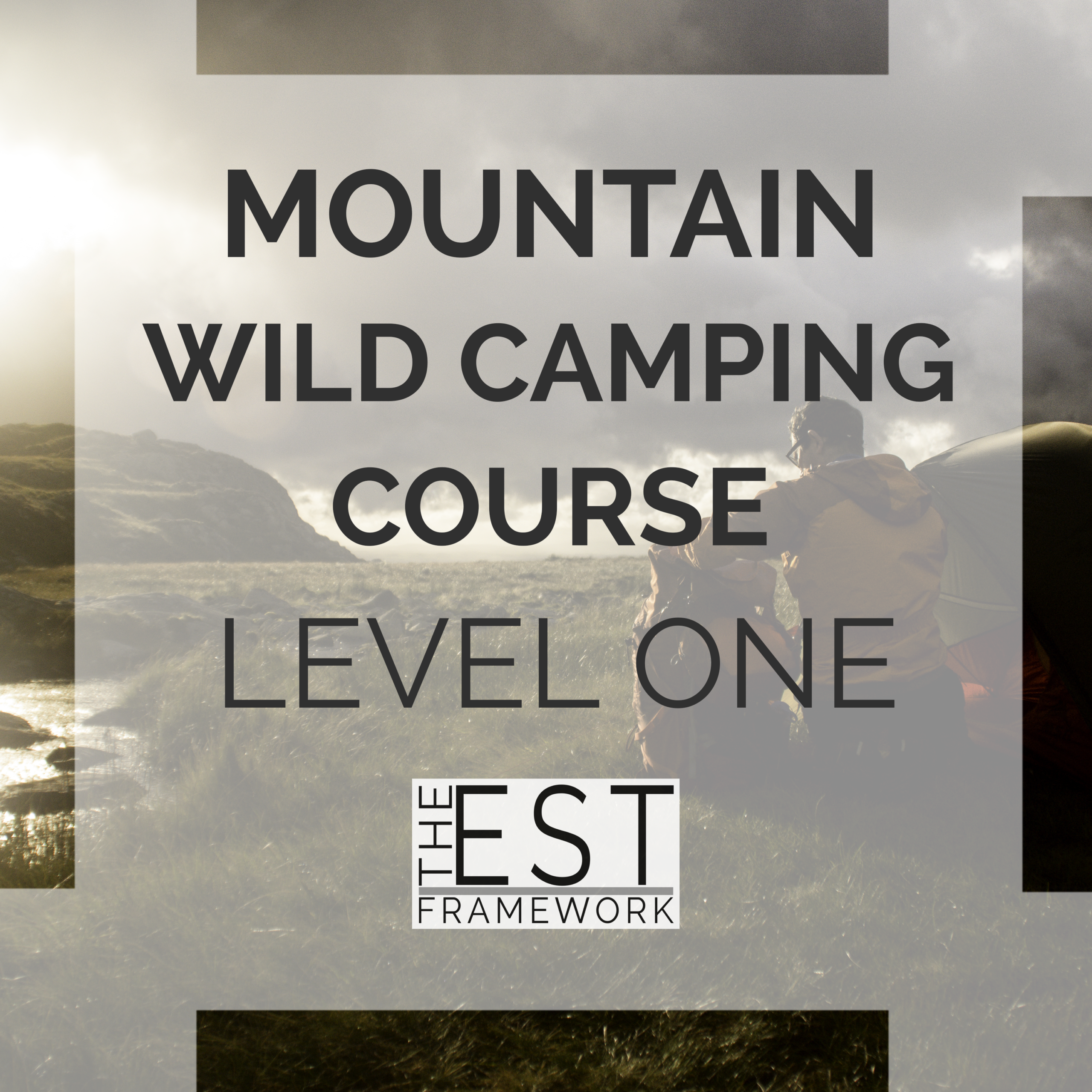 mountain wild camping course