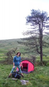 Can I wild camp in the UK