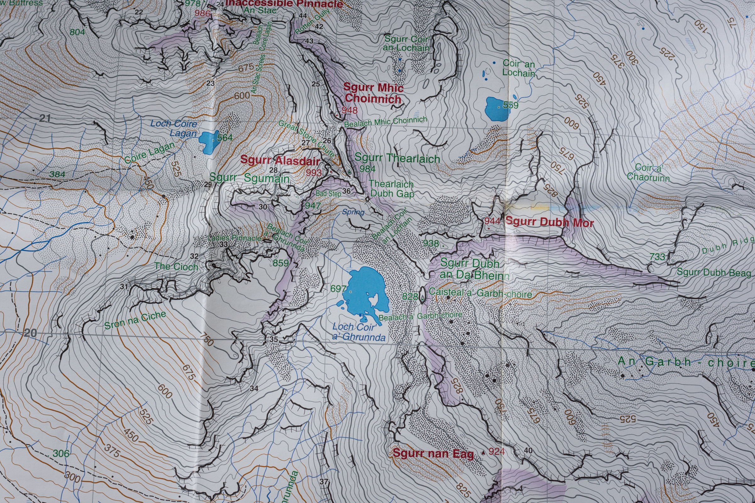 which map for hiking uk