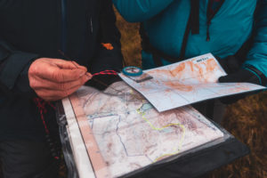 contour map navigation course uk