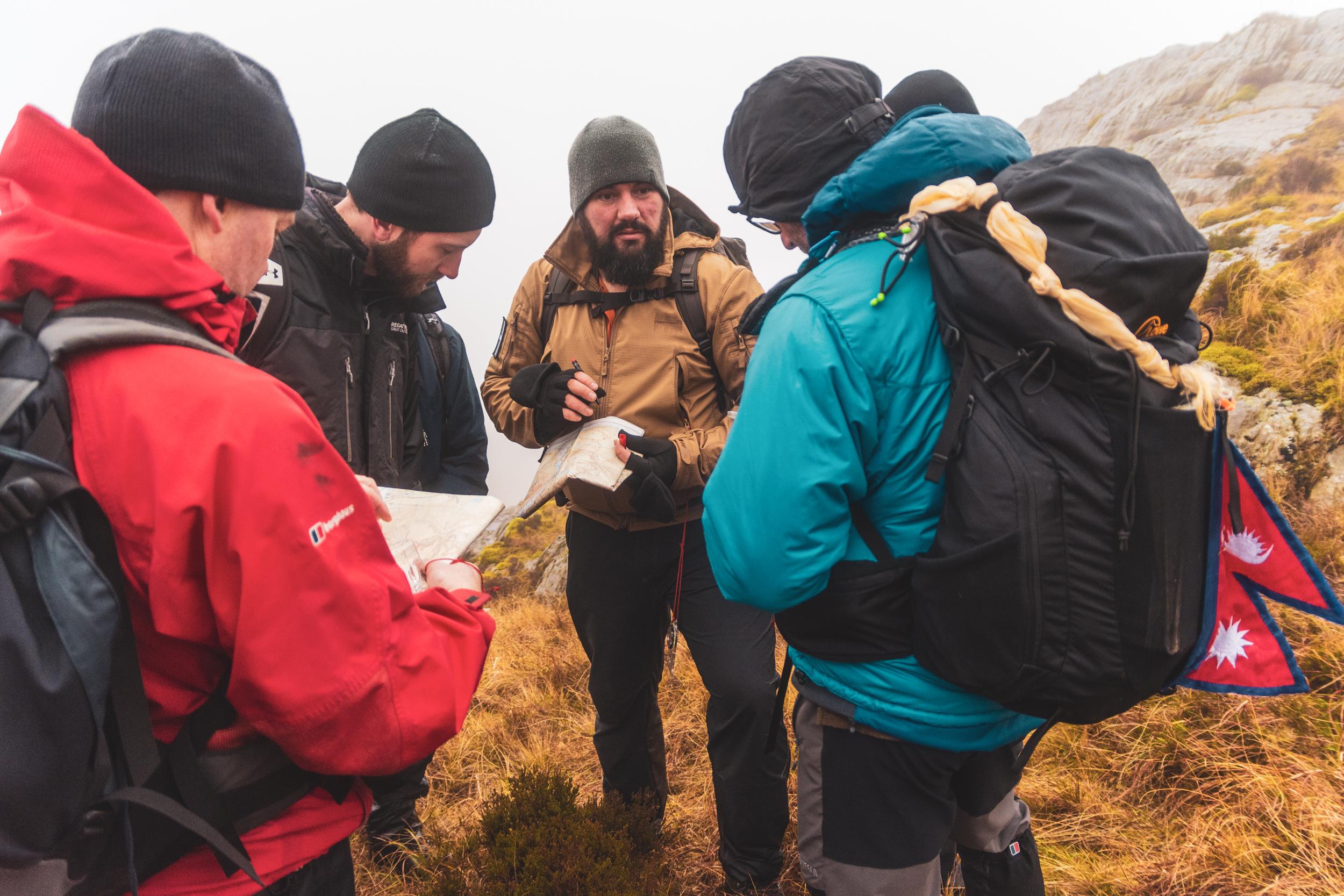 mountain navigation course snowdonia