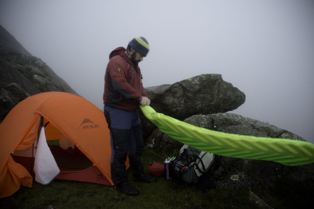 richard prideaux wild camping